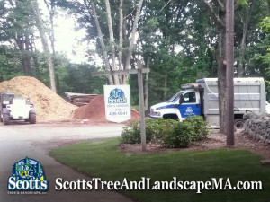 Mulch & Loam Delivery in Westford, MA by Scott's Tree & Landscape, inc
