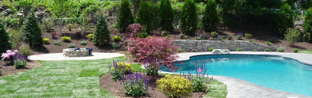 Landscape design in Westford, MA